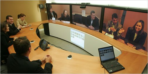Cisco's Telepresence in operation